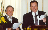 Rev. Thomas Gandow & Robert Minton 2000.  Photo © 2000 Tilman Hausherr