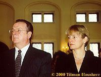Robert Minton & Stacy Brooks 2000.  Photo © 2000 Tilman Hausherr